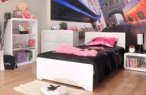 d co chambre ado design fille. Black Bedroom Furniture Sets. Home Design Ideas