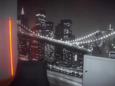 déco chambre ado garçon new york