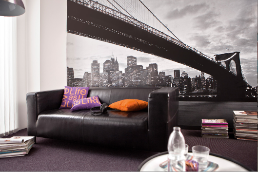 D co chambre ado gar on new york - Decoration chambre new york ...