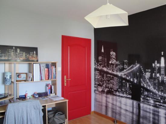 d co chambre ado gar on new york. Black Bedroom Furniture Sets. Home Design Ideas