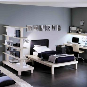 d co chambre adolescent garcon. Black Bedroom Furniture Sets. Home Design Ideas