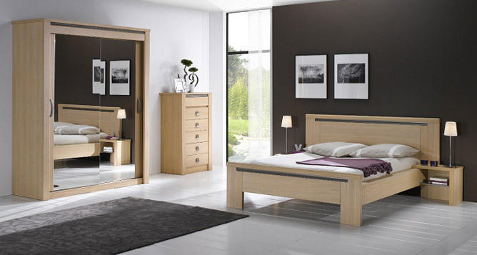 D co chambre adulte contemporain for Deco photo chambre adulte