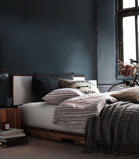 idee deco chambre adulte bleu