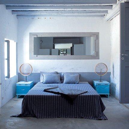 d233co chambre adulte gris bleu