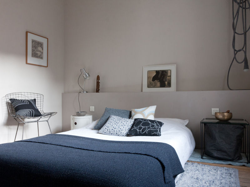 Emejing Idee Deco Chambre Gris Vert Images - House Design ...