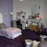 déco chambre adulte gris violet