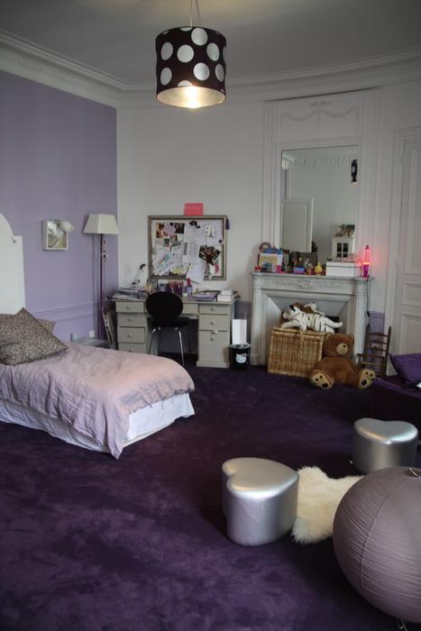 Parfait Beautiful Chambre Blanche Avec Moquette Grise Ideas   House Design .