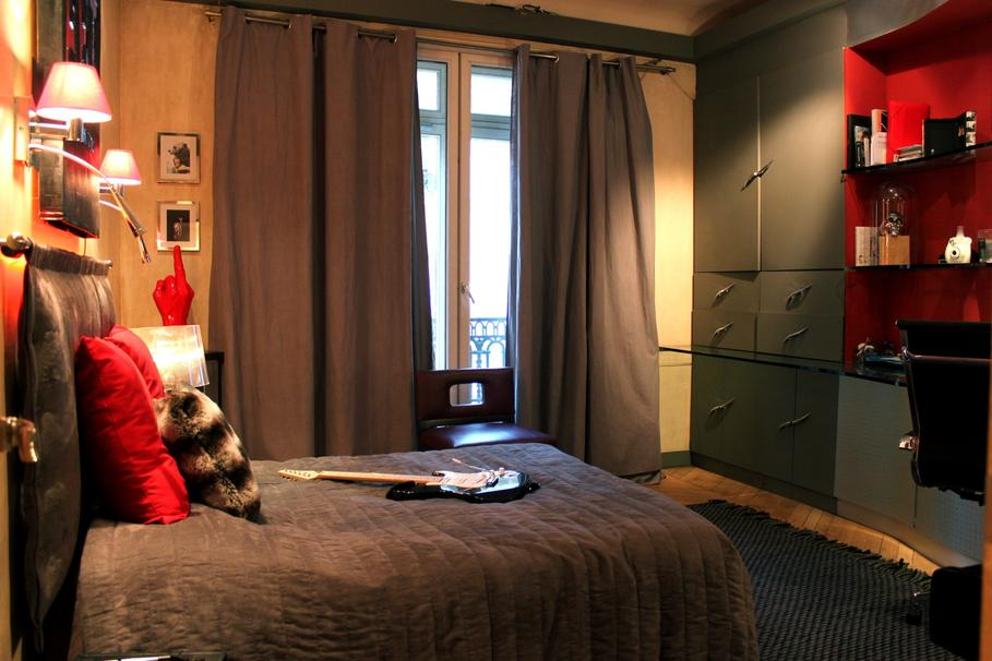 D Co Chambre Adulte Marron Vert