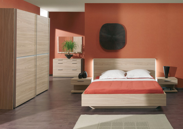 D co chambre adulte pas cher for Exemple de deco chambre adulte