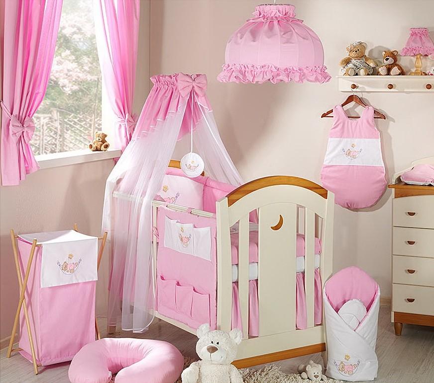 aménagement déco chambre bébé fille photo