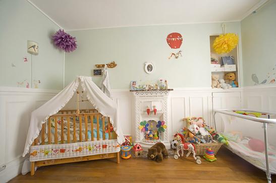 Photo déco chambre bébé garçon