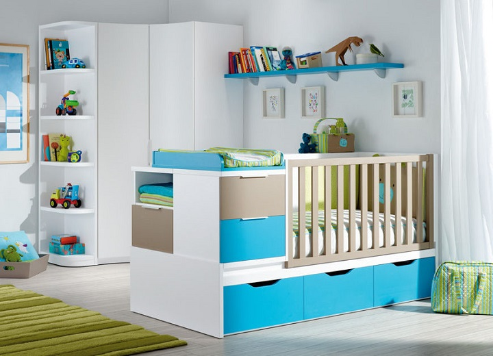 D co chambre b b garcon for Organisation chambre bebe