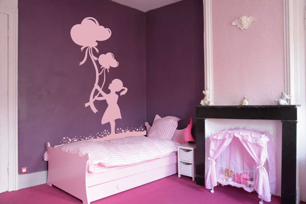 D co chambre fille 4 ans Exemple de decoration de chambre