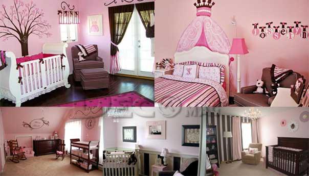 d co chambre fille rose et noir. Black Bedroom Furniture Sets. Home Design Ideas