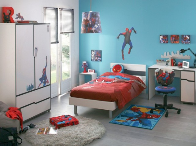 D co chambre gar on 3 ans for Deco chambre garcon 7 ans