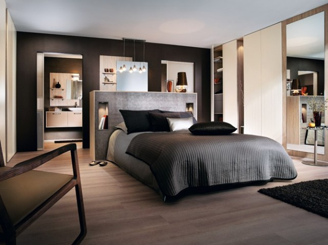 d co chambre parentale. Black Bedroom Furniture Sets. Home Design Ideas