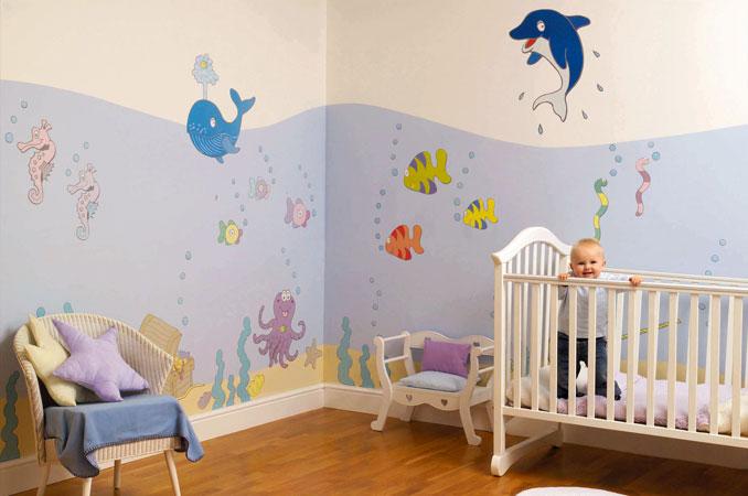 D co chambre petit gar on - Decoration chambre petit garcon ...