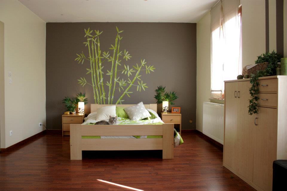 am nagement d co chambre zen - Exemple Peinture Chambre Adulte