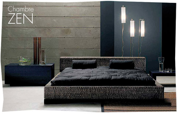 d co chambre zen. Black Bedroom Furniture Sets. Home Design Ideas