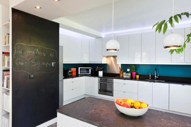 Organisation Déco Cuisine Blanc Et Bleu - Deco jardin pinterest pour idees de deco de cuisine
