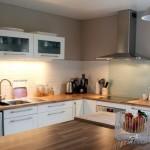 déco cuisine blanc et bois
