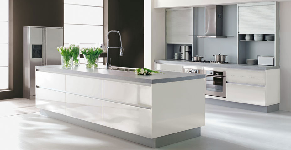 d co cuisine blanche. Black Bedroom Furniture Sets. Home Design Ideas