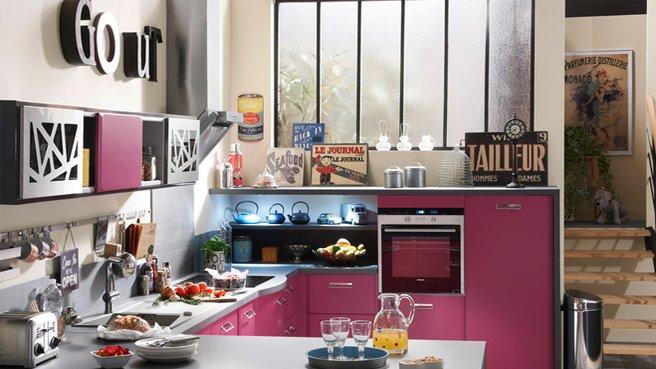 D co cuisine r tro for Organisation cuisine