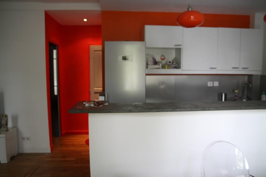 D co cuisine rouge et blanc for Deco cuisine rouge et blanc