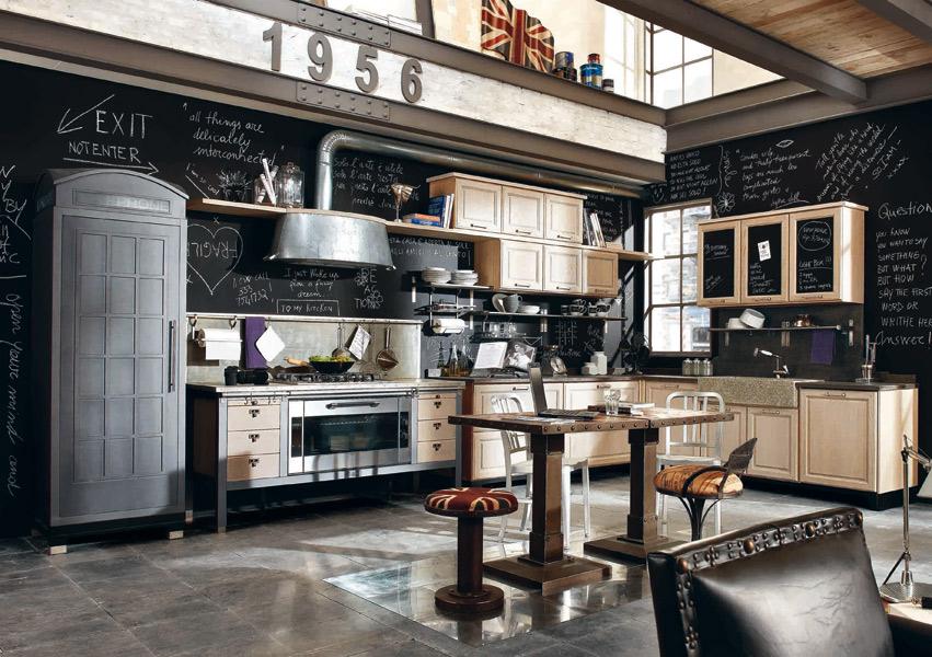 d co cuisine vintage. Black Bedroom Furniture Sets. Home Design Ideas