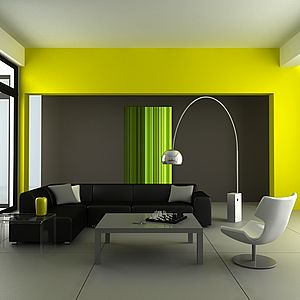 d co salon couleurs chaudes. Black Bedroom Furniture Sets. Home Design Ideas