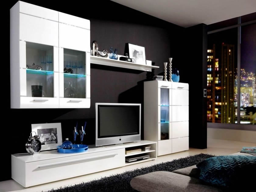 d co salon design noir blanc. Black Bedroom Furniture Sets. Home Design Ideas