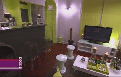 D coration salon association couleur vert kaki et beige et for Deco salon gris et marron