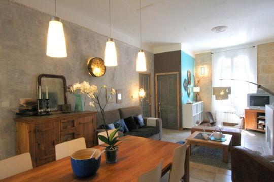 aménagement déco salon salle à manger cuisine - Decoration Salon Et Salle A Manger