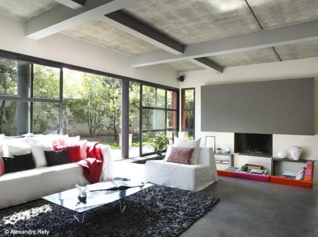 d co salons contemporains. Black Bedroom Furniture Sets. Home Design Ideas