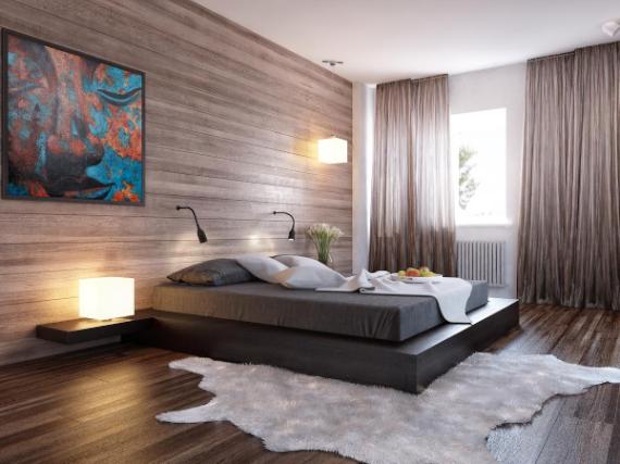 exemple décoration chambre à coucher adulte 2013