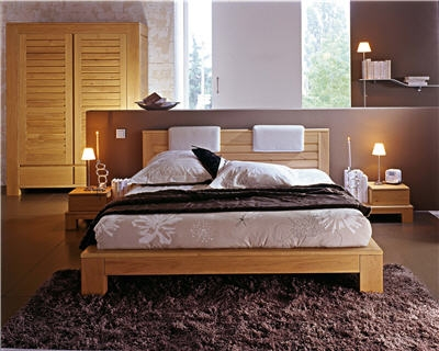 D coration chambre coucher adulte zen for Decoration chambre a coucher en photo
