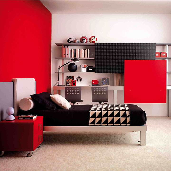 d coration chambre adolescent gar on. Black Bedroom Furniture Sets. Home Design Ideas
