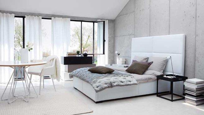 Exemple Décoration Chambre Adulte Blanc Gris