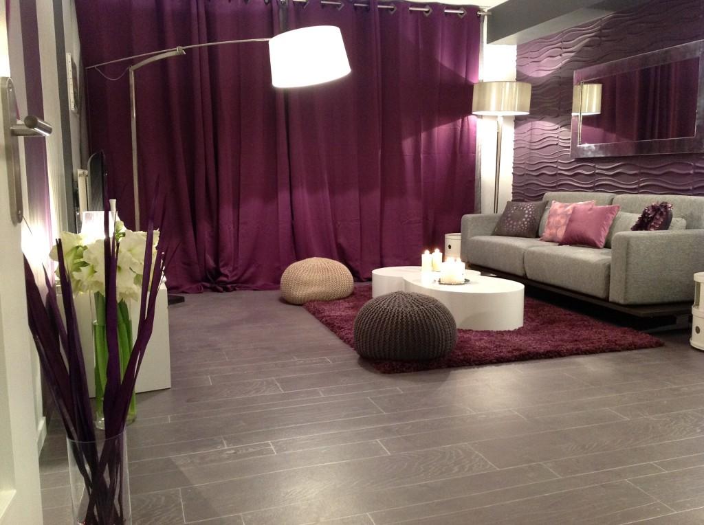 D coration chambre adulte gris et prune - Decoration chambre adulte gris ...