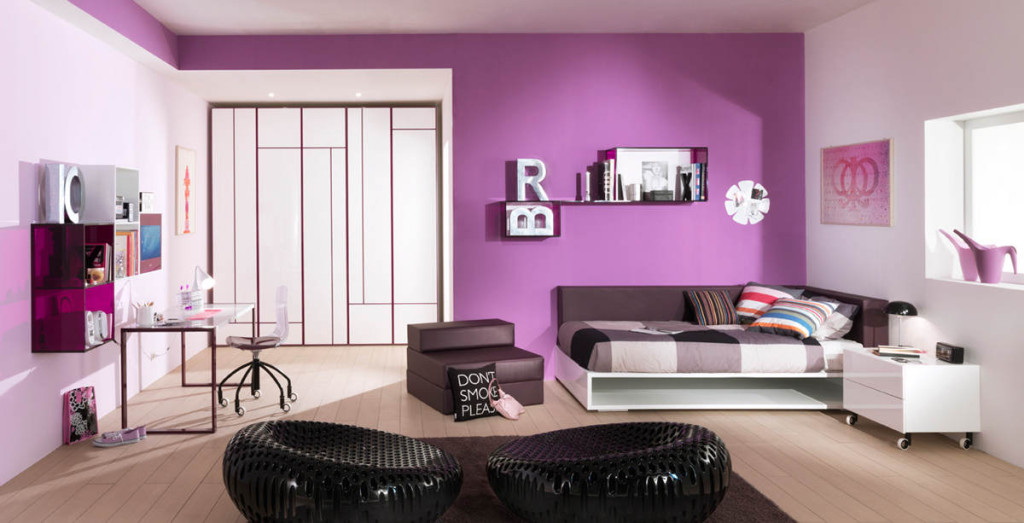 Decoration Chambre Adulte Gris Et Prune