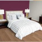 d coration chambre adulte gris et prune. Black Bedroom Furniture Sets. Home Design Ideas