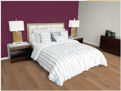 D coration chambre adulte gris et prune for Salon gris et prune