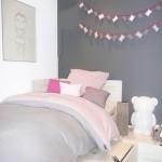 décoration chambre adulte rose et gris