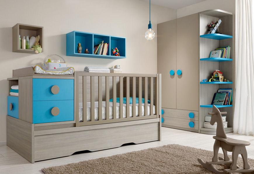 exemple décoration chambre bébé fille et garcon