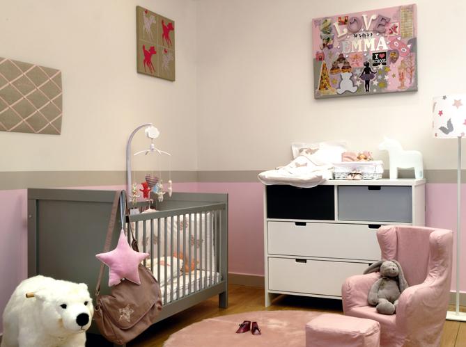 Belle Bebe Fille Et Gara§on : Décoration chambre bébé fille et garcon