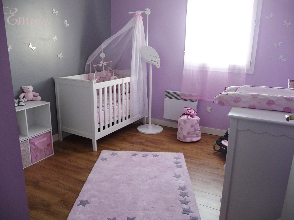 Chambre Pour Fille Ikea : Décoration chambre bébé fille ikea