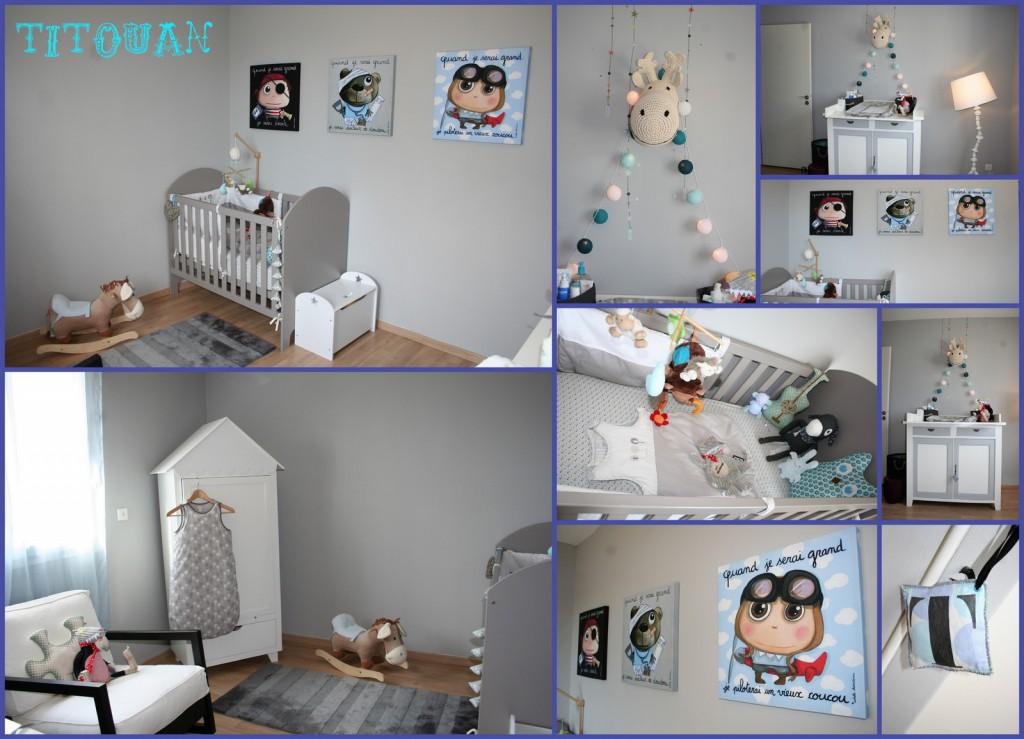 Chambre Bebe Bleu Turquoise Et Gris - onestopcolorado.com -