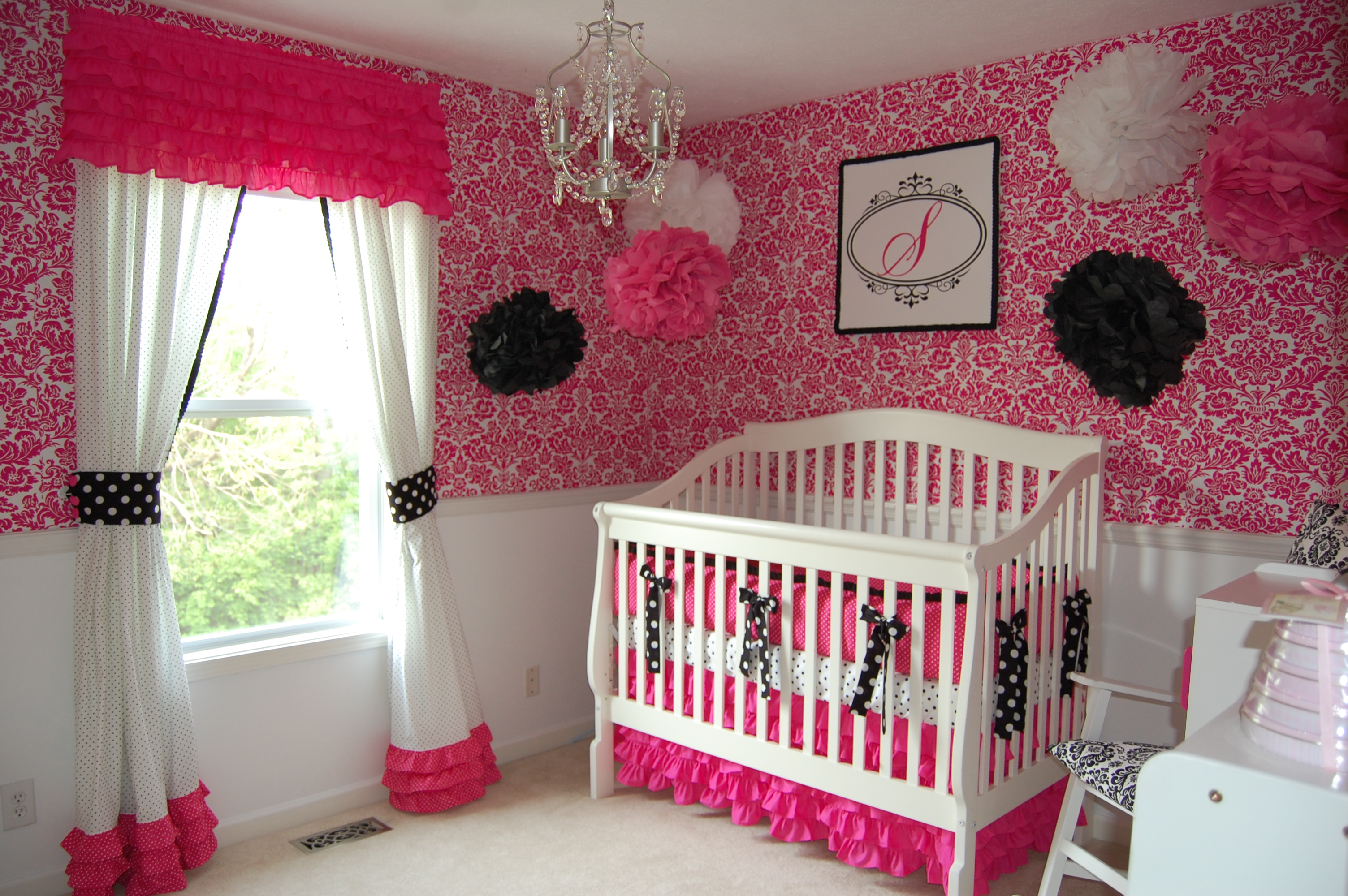 Decoration chambre bebe fille photo - Decoration chambre de bebe fille ...
