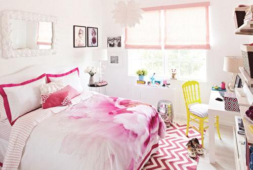 Elegant Modèle Décoration Chambre Pour Fille Ado