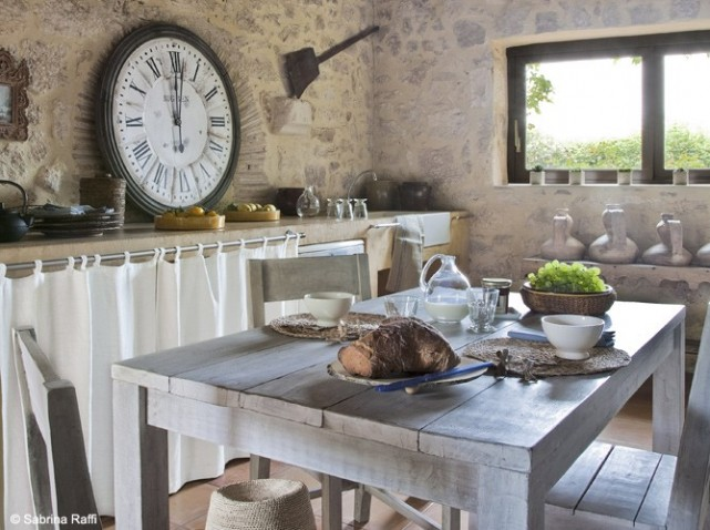 D coration cuisine campagne chic for Cuisine francaise decoration